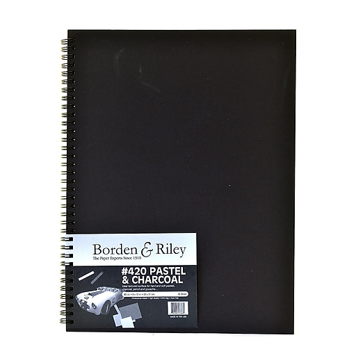 Borden  And  Riley 420 Charcoal/Pastel Paper 9 In. X 12 In. 40 Sheets (420B091240)