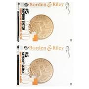 Borden  And  Riley Ha'Penny Sketch Pad 24 In. X 36 In. 50 Sheets (005P243650)