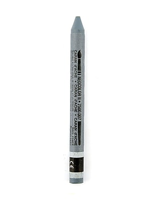 Caran D'Ache Neocolor Ii Aquarelle Water Soluble Wax Pastels Dark Gray [Pack Of 10] (10PK-7500-007)