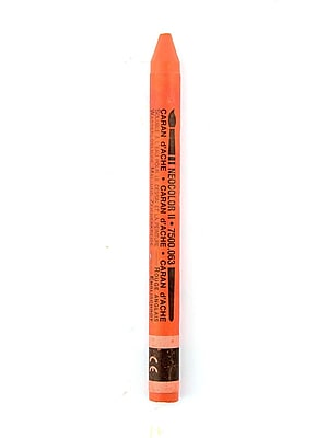 Caran D'Ache Neocolor Ii Aquarelle Water Soluble Wax Pastels English Red [Pack Of 10] (10PK-7500-063)