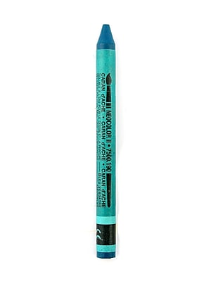Caran D'Ache Neocolor Ii Aquarelle Water Soluble Wax Pastels Greenish Blue [Pack Of 10] (10PK-7500-0190)