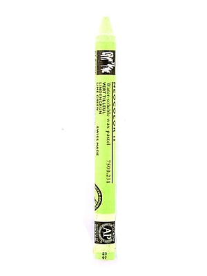 Caran D'Ache Neocolor Ii Aquarelle Water Soluble Wax Pastels Lime Green [Pack Of 10] (10PK-7500-0231)