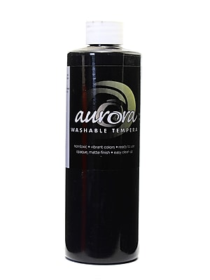 Chroma Inc. Aurora Washable Tempera Black [Pack Of 4] (4PK-11800) 2133363