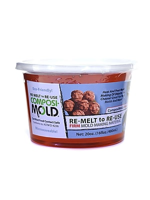 Composimold Re-Melt To Re-Use Mold Making Material Firm 20 Oz. (PM20)