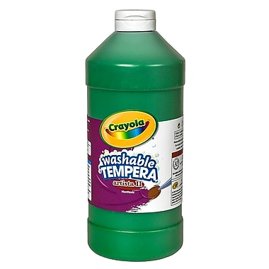 Crayola Artista Ii Liquid Tempera Paint Green 32 Oz. [Pack Of 3] (3PK-54-3132-044)