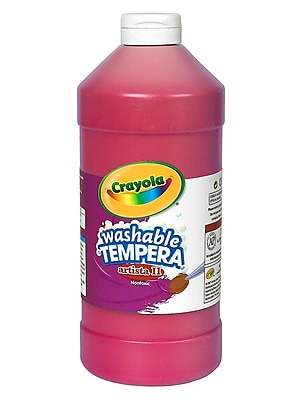 Crayola Artista Ii Liquid Tempera Paint Red 32 Oz. [Pack Of 3] (3PK-54-3132-038)
