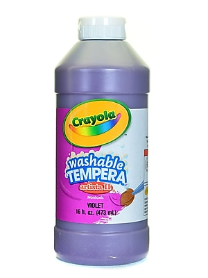 Crayola Artista Ii Liquid Tempera Paint Violet 16 Oz. [Pack Of 4] (4PK-54-3115-040)