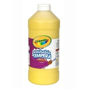 Crayola Artista Ii Liquid Tempera Paint Yellow 32 Oz. [Pack Of 3] (3PK-54-3132-034)