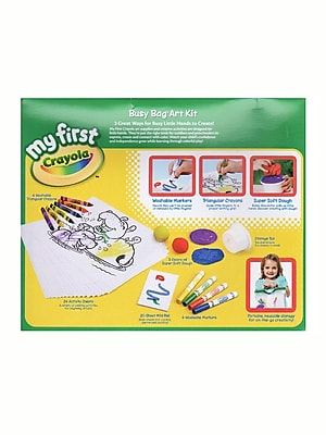 Crayola My First Busy Bag Art Kit Each (81-1328)
