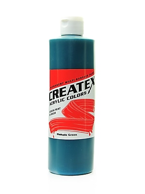 Createx Acrylic Colors Phthalo Green 16 Oz. [Pack Of 2] (2PK-2010-16)