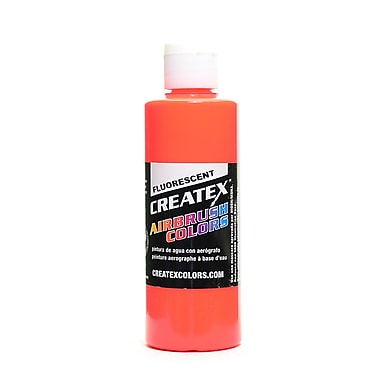 Createx Airbrush Colors Fluorescent Red 4 Oz. [Pack Of 3] (3PK-5408-04)