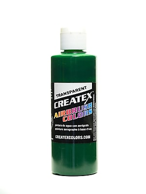 Createx Airbrush Colors Transparent Brite Green 4 Oz. [Pack Of 3] (3PK-5109-04)