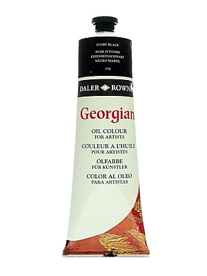 Daler-Rowney Georgian Oil Colours Ivory Black 225 Ml (111225034)