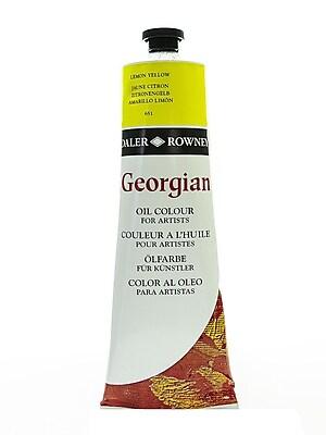Daler-Rowney Georgian Oil Colours Lemon Yellow 225 Ml (111225651)