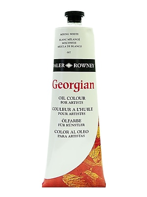 Daler-Rowney Georgian Oil Colours, Mixing White, 225 Ml (111225007)
