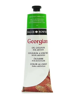 Daler-Rowney Georgian Oil Colours, Permanent Green Light, 225 Ml (111225347)