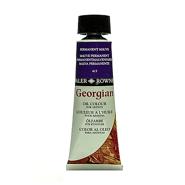 Daler-Rowney Georgian Oil Colours Permanent Mauve 75 Ml (111075413)