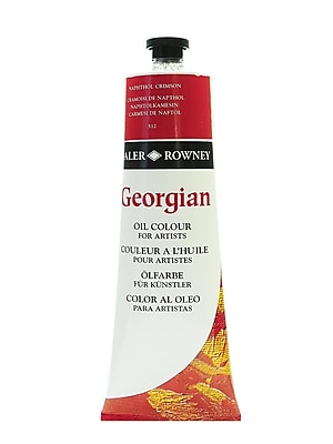 Daler-Rowney Georgian Oil Colours, Pyrrole Red, 225 Ml (111225512)