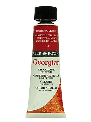 Daler-Rowney Georgian Oil Colours, Pyrrole Red, 75 Ml (111075512)