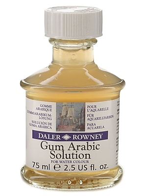 Daler-Rowney Gum Arabic Solution, 2.5 Oz. Jar (114007001)