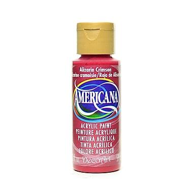Decoart Americana Acrylic Paints Alizarin Crimson 2 Oz. [Pack Of 8] (8PK-DA179-3)