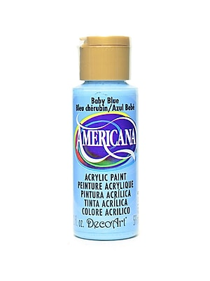 Decoart Americana Acrylic Paints Baby Blue 2 Oz. [Pack Of 8] (8PK-DA42-3)