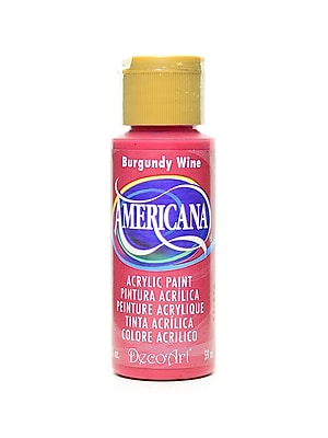 Decoart Americana Acrylic Paints Burgundy Wine 2 Oz. [Pack Of 8] (8PK-DA22-3)