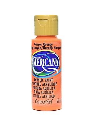 Decoart Americana Acrylic Paints Canyon Orange 2 Oz. [Pack Of 8] (8PK-DA238-3)