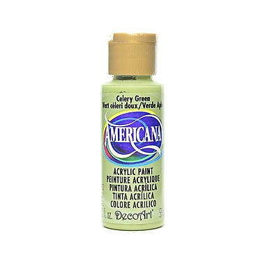 Decoart Americana Acrylic Paints Celery Green 2 Oz. [Pack Of 8] (8PK-DA208-3)