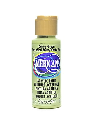 Decoart Americana Acrylic Paints Celery Green 2 Oz. [Pack Of 8] (8PK-DA208-3)
