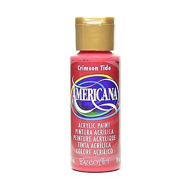 Decoart Americana Acrylic Paints Crimson Tide 2 Oz. [Pack Of 8] (8PK-DA021-3)