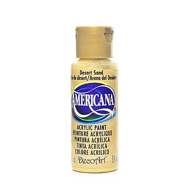 Decoart Americana Acrylic Paints Desert Sand 2 Oz. [Pack Of 8] (8PK-DA077-3)