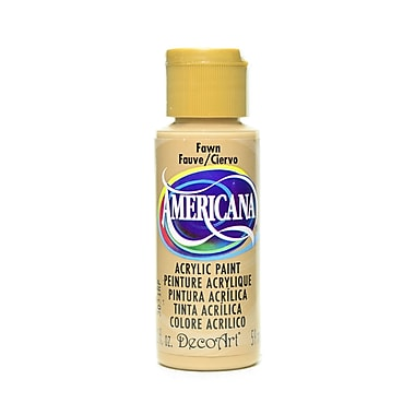 Decoart Americana Acrylic Paints Fawn 2 Oz. [Pack Of 8] (8PK-DA242-3)