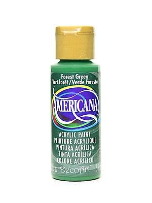 Decoart Americana Acrylic Paints Forest Green 2 Oz. [Pack Of 8] (8PK-DA50-3)