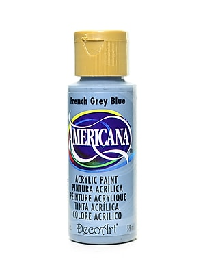 Decoart Americana Acrylic Paints French Grey Blue 2 Oz. [Pack Of 8] (8PK-DA98-3)