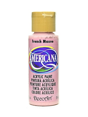 Decoart Americana Acrylic Paints French Mauve 2 Oz. [Pack Of 8] (8PK-DA186-3)