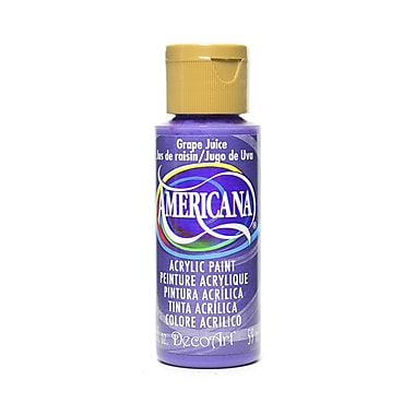 Decoart Americana Acrylic Paints Grape Juice 2 Oz. [Pack Of 8] (8PK-DA236-3)