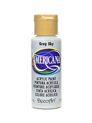 Decoart Americana Acrylic Paints Grey Sky 2 Oz. [Pack Of 8] (8PK-DA111-3)