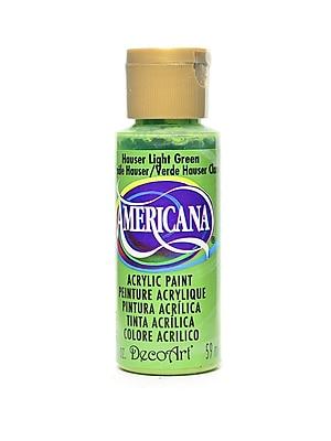 Decoart Americana Acrylic Paints Hauser Green Light 2 Oz. [Pack Of 8] (8PK-DA131-3)