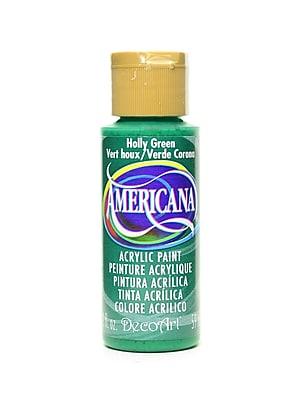 Decoart Americana Acrylic Paints Holly Green 2 Oz. [Pack Of 8] (8PK-DA48-3)