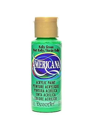 Decoart Americana Acrylic Paints Kelly Green 2 Oz. [Pack Of 8] (8PK-DA55-3)