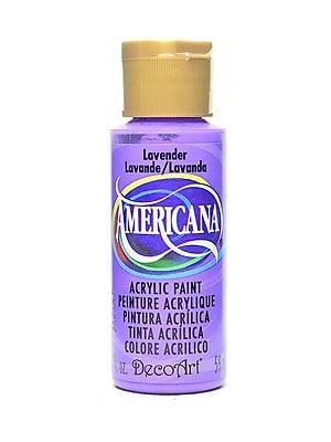 Decoart Americana Acrylic Paints Lavender 2 Oz. [Pack Of 8] (8PK-DA34-3)
