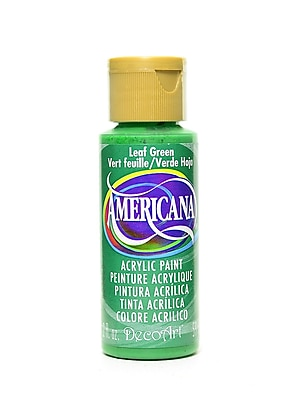 Decoart Americana Acrylic Paints Leaf Green 2 Oz. [Pack Of 8] (8PK-DA51-3)