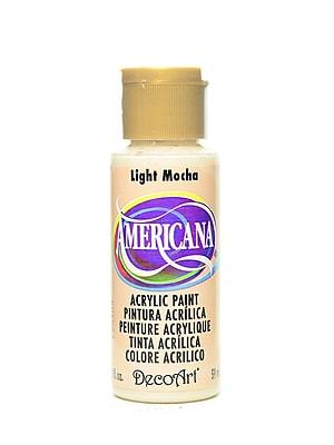 Decoart Americana Acrylic Paints Light Mocha 2 Oz. [Pack Of 8] (8PK-DA241-3)