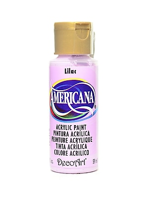 Decoart Americana Acrylic Paints Lilac 2 Oz. [Pack Of 8] (8PK-DA032-3)