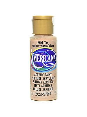 Decoart Americana Acrylic Paints Mink Tan 2 Oz. [Pack Of 8] (8PK-DA92-3)
