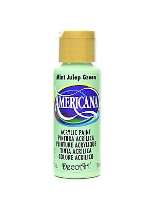 Decoart Americana Acrylic Paints Mint Julep 2 Oz. [Pack Of 8] (8PK-DA45-3)