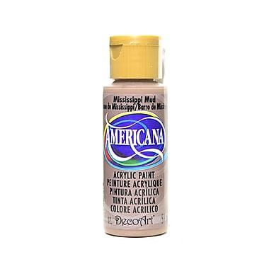 Decoart Americana Acrylic Paints Mississippi Mud 2 Oz. [Pack Of 8] (8PK-DA94-3)