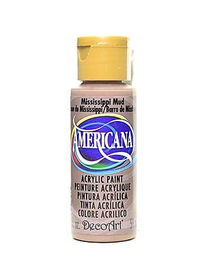 Decoart Americana Acrylic Paints Mississippi Mud 2 Oz. [Pack Of 8] (8PK-DA94-3)