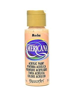 Decoart Americana Acrylic Paints Mocha 2 Oz. [Pack Of 8] (8PK-DA060-3)